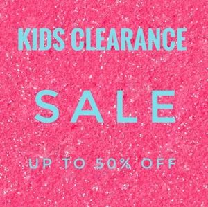 KIDS SALE UP TO 50% OFF